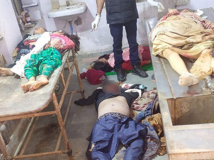 राजस्थानः सड़क हादसे में एक ही परिवार के आठ लोगों की मौत, मंदिर में दर्शन कर जीप से लौट रहे थे