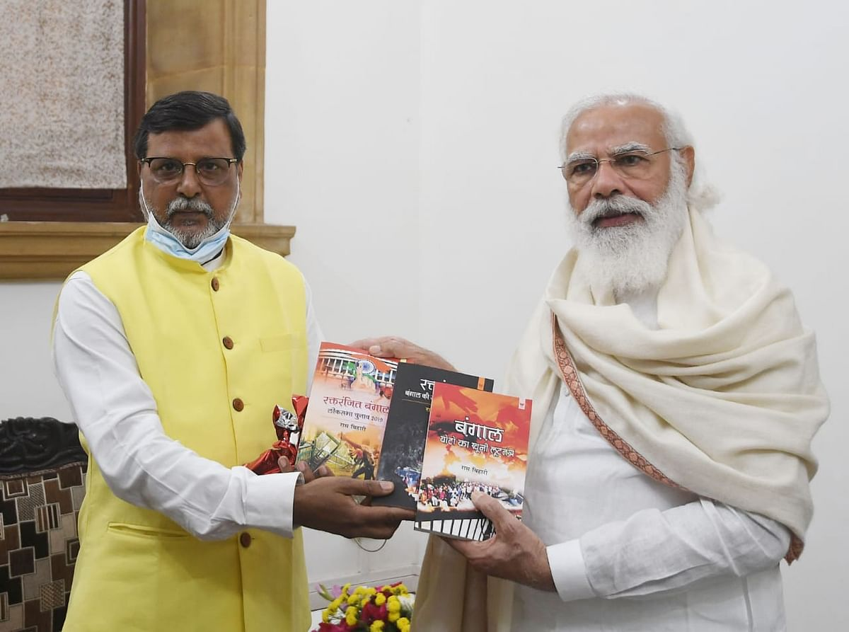 बंगाल के सियासी इतिहास पर रास बिहारी की पुस्तकें पठनीय और प्रशंसनीय: मोदी