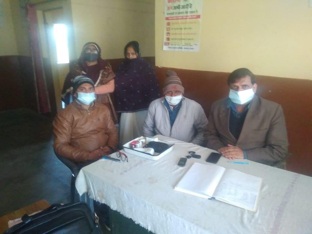 मुख्यमंत्री जन आरोग्य मेले का हुआ आयोजन, मुफ्त बटीं दवाएं