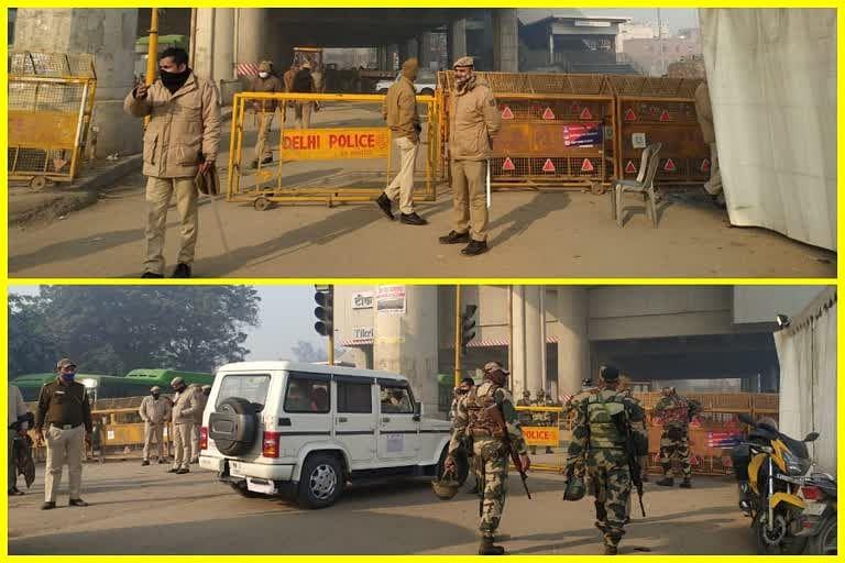तीनों बॉर्डरों पर पुलिस सतर्क, सुरक्षा के कड़े इंतजाम