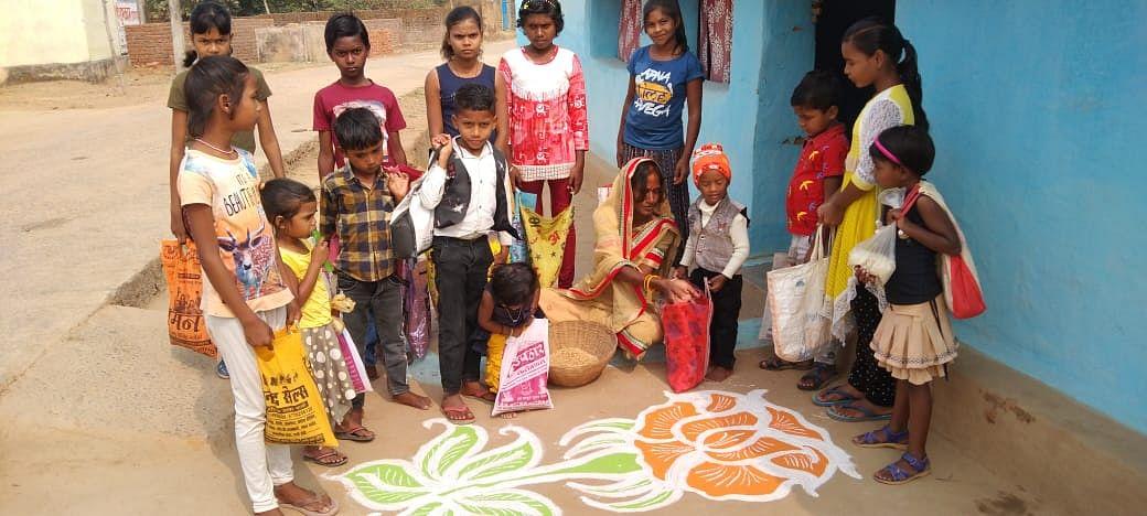 कोरबा : छत्तीसगढ़ का पारंपरिक त्यौहार छेरछेरा पर्व धूमधाम से मनाया गया