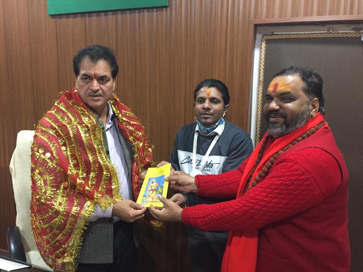 रमेश सेमवाल की पुस्तक कामधेनु संहिता का विधानसभा अध्यक्ष  ने किया विमोचन