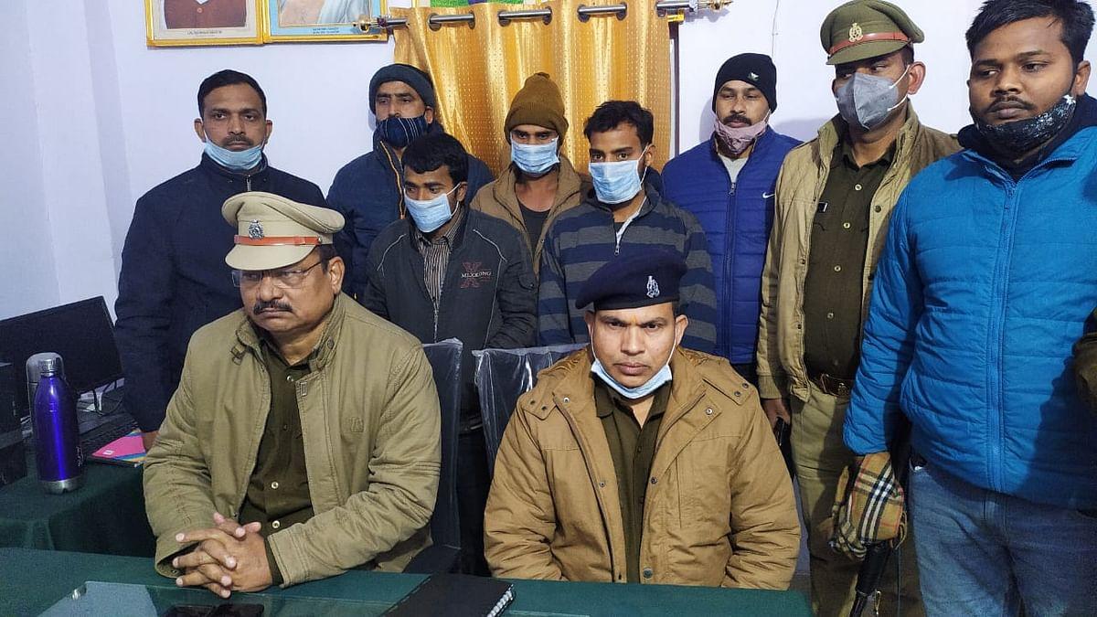 बस्ती पुलिस ने 12 घण्टों में गैंगरेप के दरिंदों को पकड़ा