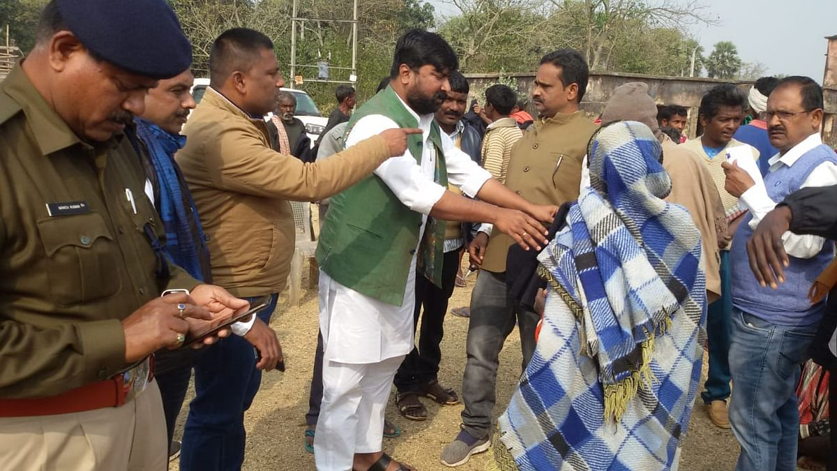MP visits villages, knows about the situation