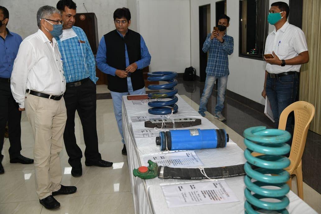 पश्चिम रेलवे : मुंबई मंडल द्वारा क्रिटिकल रेलवे कॉम्पोनेंट के स्थानीय विक्रेताओं के लिए प्रदर्शनी