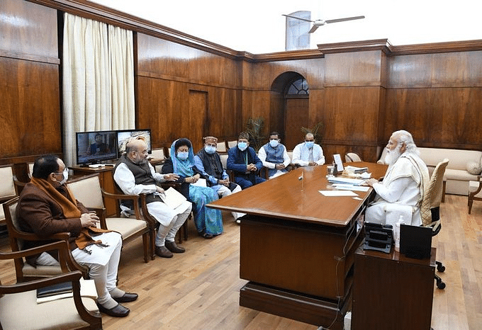 prime-minister-holds-meeting-with-mps-from-uttarakhand