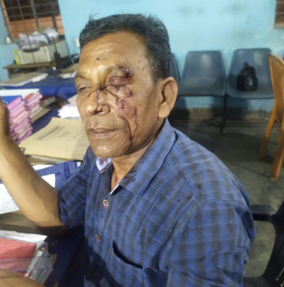 शराब के नशे में चूर मुंशी ने थाना में मचाया हंगामा, अब जाएगा जेल