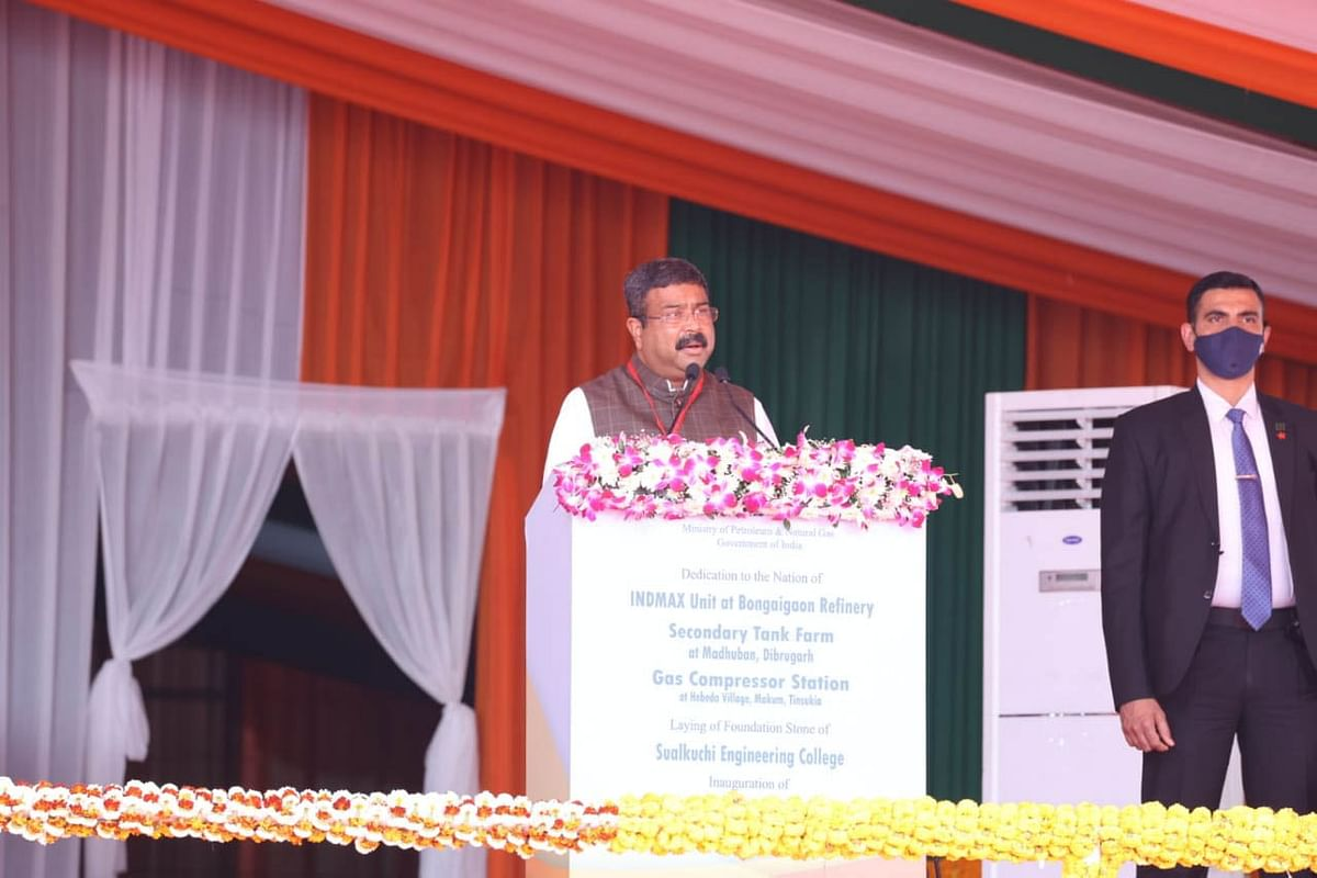 dharmendra-pradhan-thanked-the-pm-for-starting-five-projects-in-assam