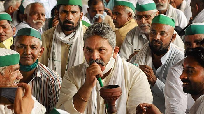 भाजपा सरकार कर रही अच्छा काम, गाजीपुर धरने से किसान की काॅल रिकाॅर्डिंग लीक