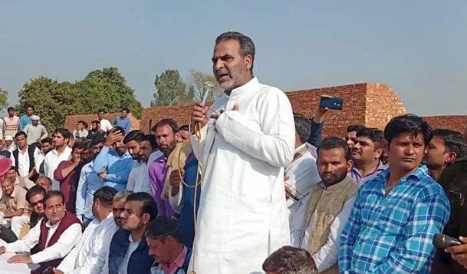 भाजपा नेता का बयान, किसान कानून को लेकर भ्रम फैलाया गया है, किसान अपनी जमीन खो देगा
