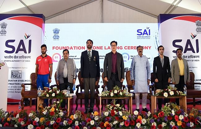 sports-minister-inaugurates-and-lays-foundation-stone-for-four-projects-in-bengaluru