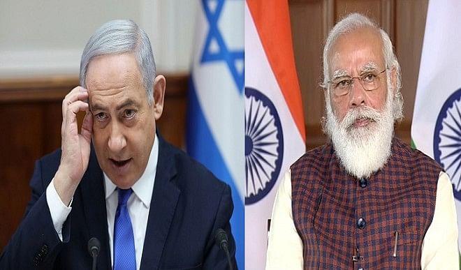 नेतन्याहू ने पीएम मोदी से की बात, कहा- आतंकवाद के खिलाफ लड़ाई में भारत-इजरायल एक साथ