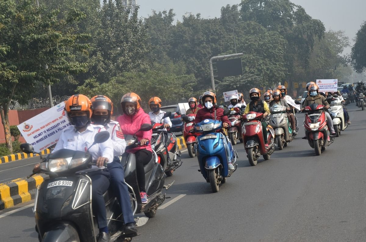 women-took-out-scooter-rally-during-32nd-national-road-safety-month