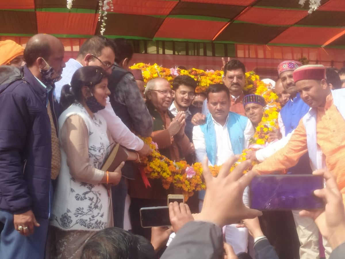 bjp-state-president-reached-salt-said---salt-will-develop-under-the-thinking-of-late-jina