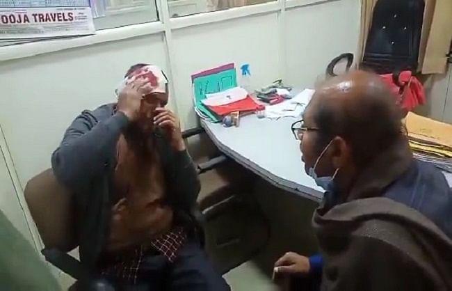 आरटीआई कार्यकर्ता पर ढाई लाख की रंगदारी मांगने का आरोप, फोड़ लिया सिर