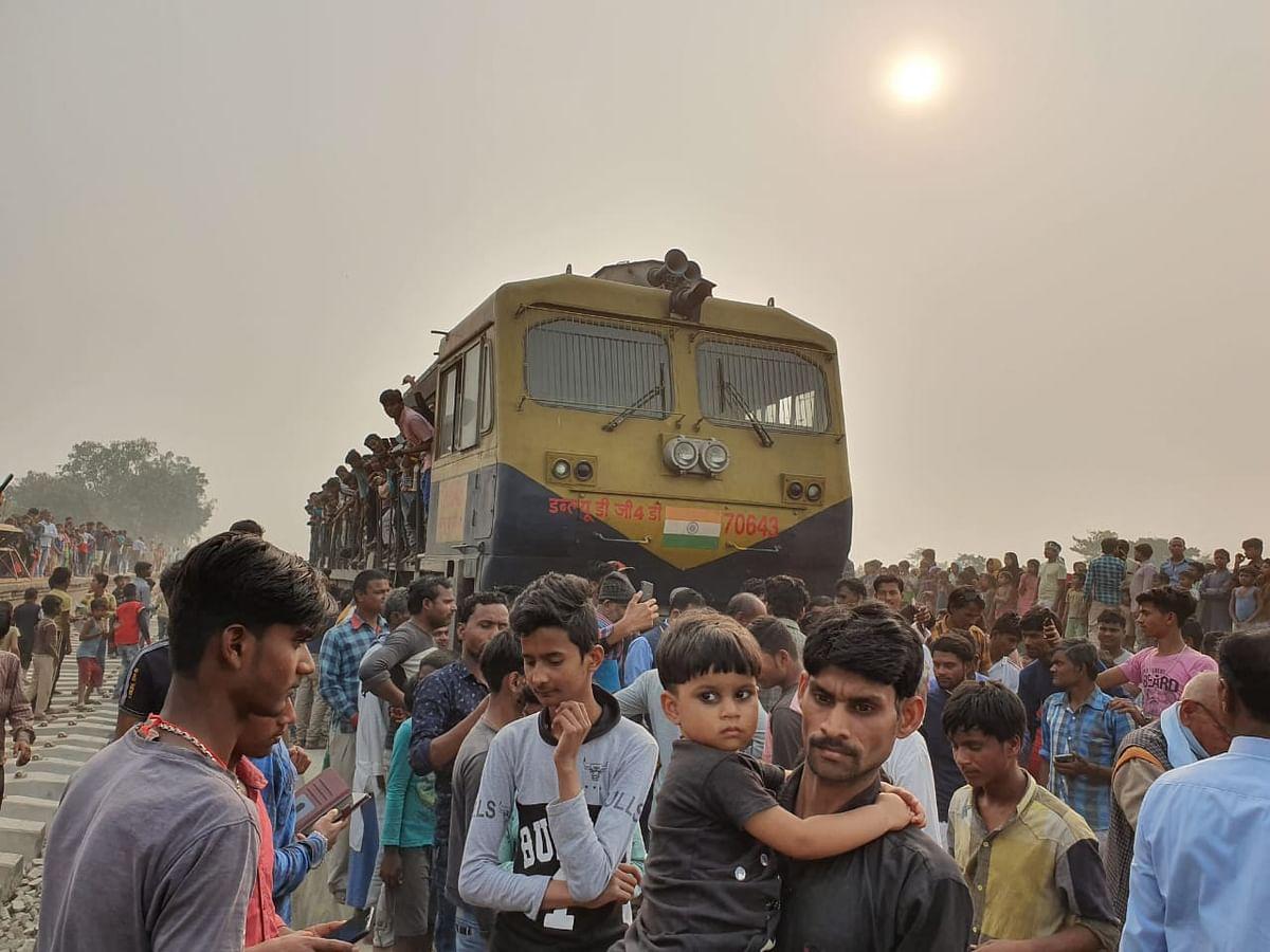 आसनपुर कुपहा से निर्मली तक दो राउंड में किया गया स्पीड ट्रायल