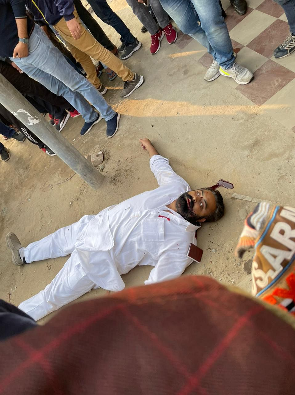 youth-congress-president-shot-dead-in-faridkot-panic-atmosphere