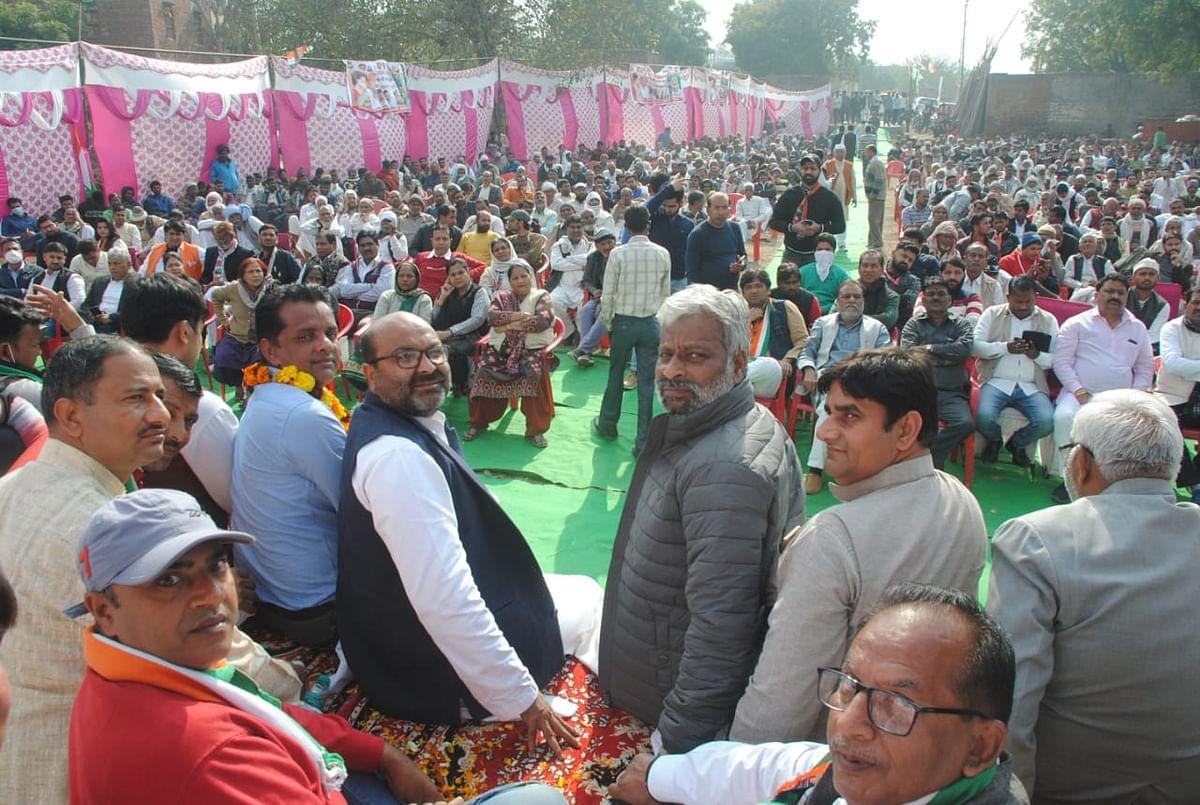 हर मोर्चे पर विफल हो गई भाजपा सरकार : अजय कुमार लल्लू
