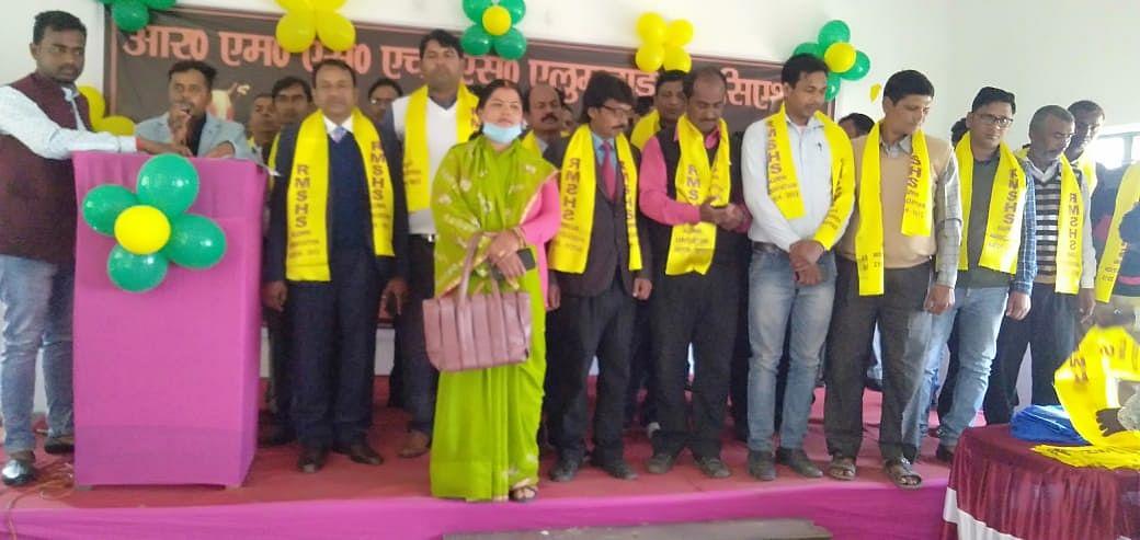रवि महतो स्मारक उच्च विद्यालय में सम्मान समारोह का आयोजन