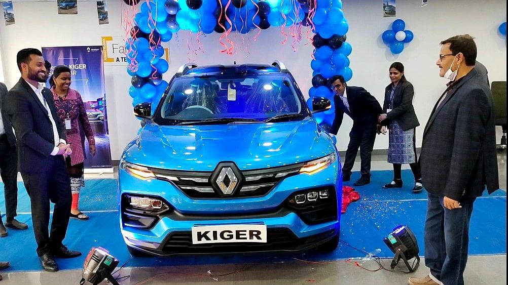 रामगढ़ में लॉन्च हुआ रेनो  काईगर, कंपनी ने शुरू की बुकिंग