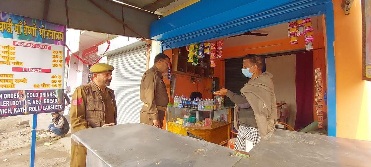 ढाबा को चोरों ने बनाया निशाना, सप्ताह में चोरी की दूसरी बारदात, पुलिस की कार्यप्रणाली पर सवालिया निशान
