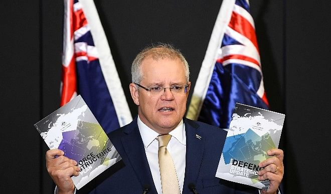 ऑस्ट्रेलिया के प्रधानमंत्री ने स्कॉट मॉरिसन ने फेसबुक से खबरों पर रोक हटाने को कहा, PM मोदी से की बात