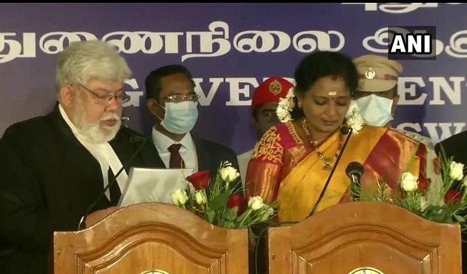 तमिलसाई सुंदरराजन ने पुडुचेरी के उपराज्यपाल के रूप में ली शपथ
