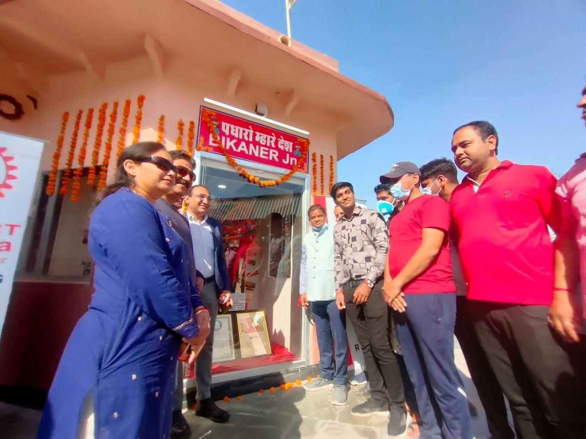 बीकानेर रेलवे स्टेशन की शोभा बढ़ाएगी राजस्थानी आन-बान-शान पगड़ी