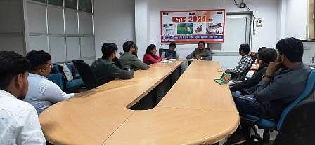 लखनऊ विश्वविद्यालय में बजट 2021-22 पर युवाओं ने की चर्चा