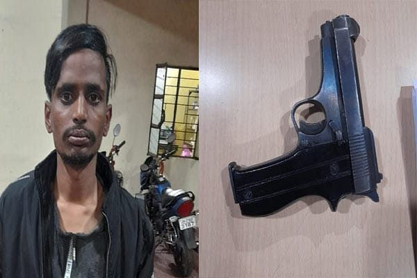 a-criminal-arrested-with-a-pistol-an-absconder
