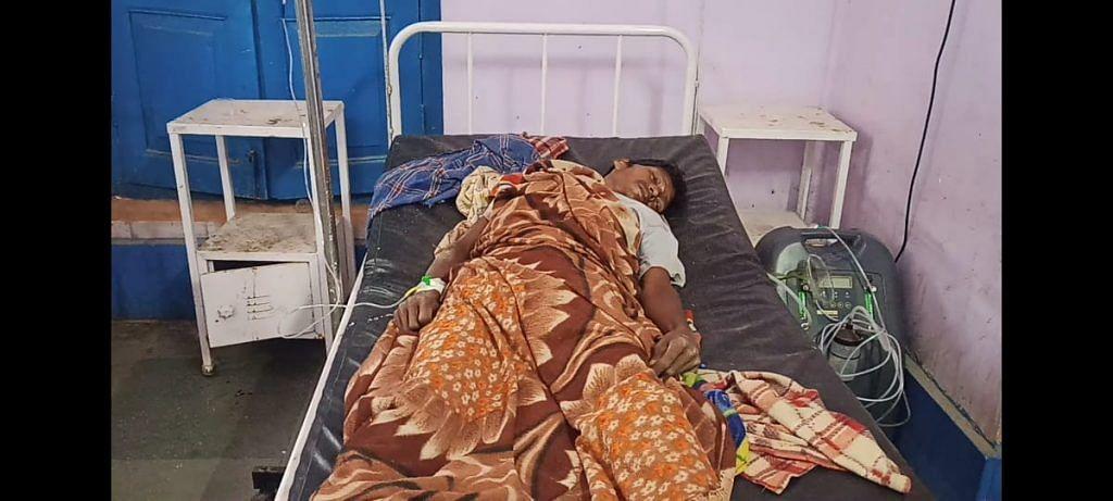 रायगढ़:मौत और जिंदगी की जंग लड़ता  राष्ट्रपति का दत्तक पुत्र माने जाने वाले पहाड़ी कोरवा रतिया राम