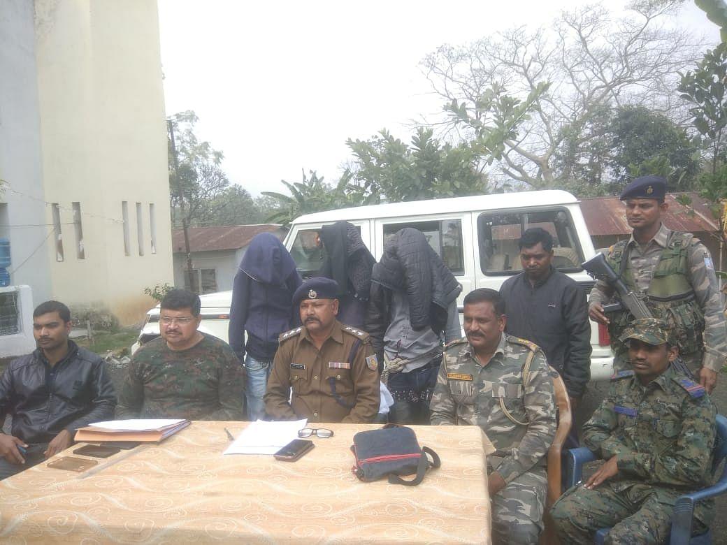 गुमला में गैंगरेप के तीनों आरोपित छह घंटे के अंदर गिरफ्तार