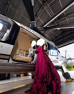 सरकारी हेलीकॉप्टर में फोटोशूट सोशल मीडिया में वायरल, तीन सदस्यीय जांच दल का गठन