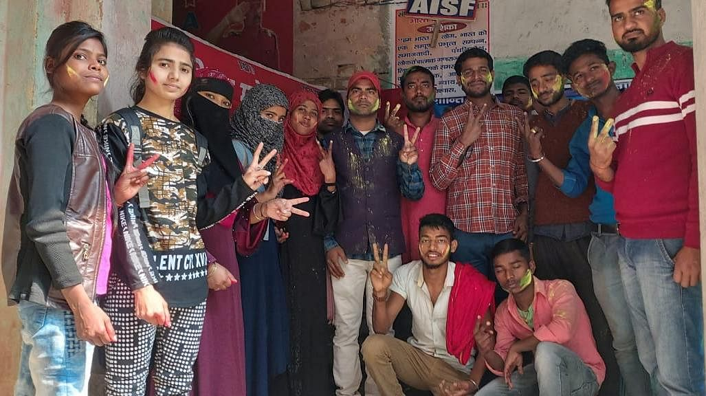 छात्राओं एवं एससी-एसटी छात्रों का फीस वापसी आदेश एआईएसएफ की जीत