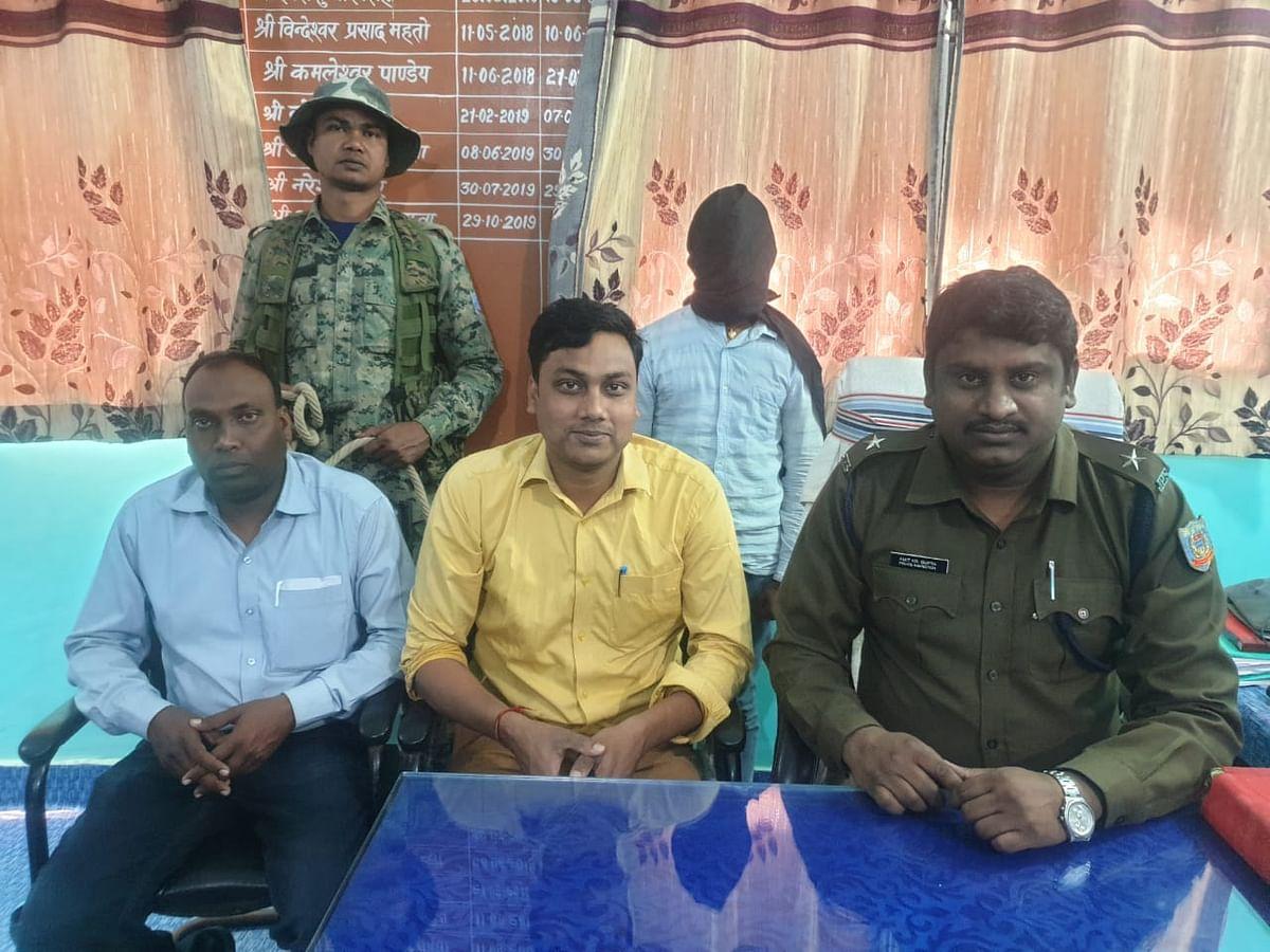 उग्रवादियों को सिम उपलब्ध कराने वाला आरोपी गिरफ्तार