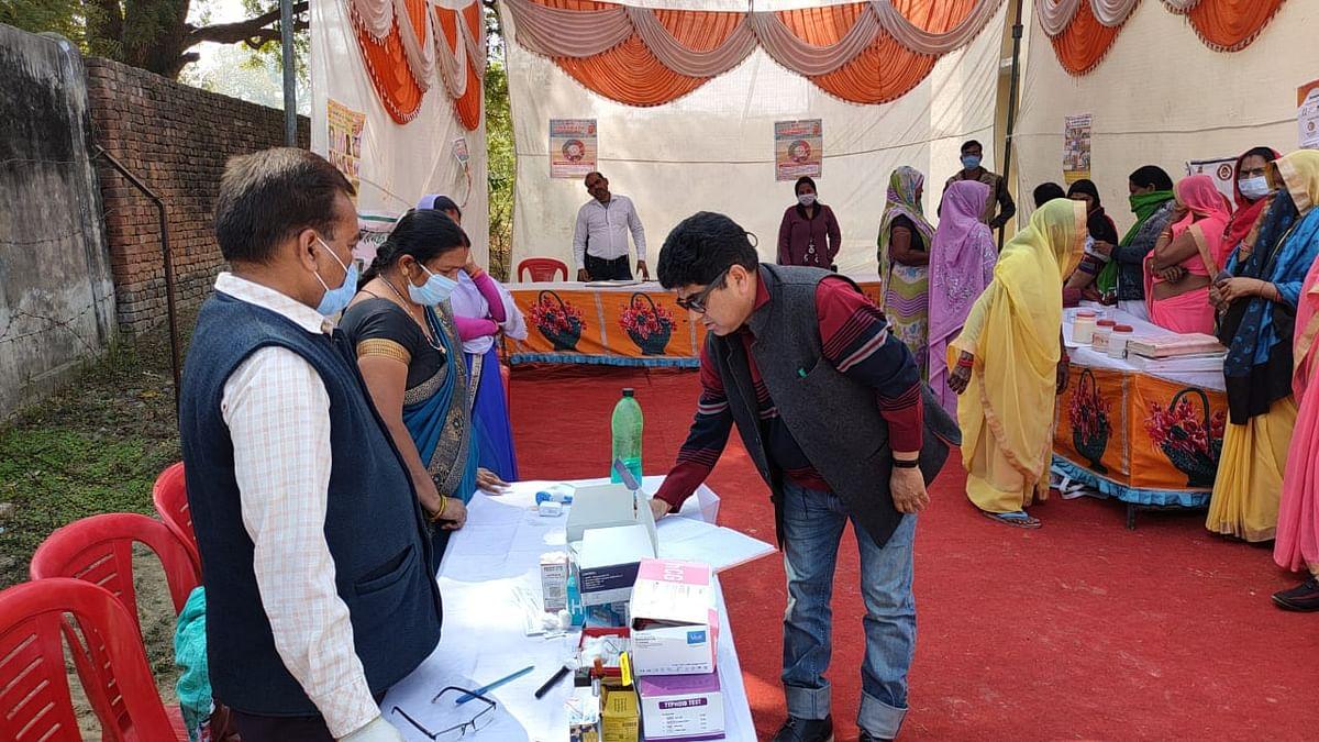 मुख्यमंत्री आरोग्य मेला : 35 स्वास्थ्य केन्द्रों में 2196 मरीजों को मिला मुफ्त उपचार