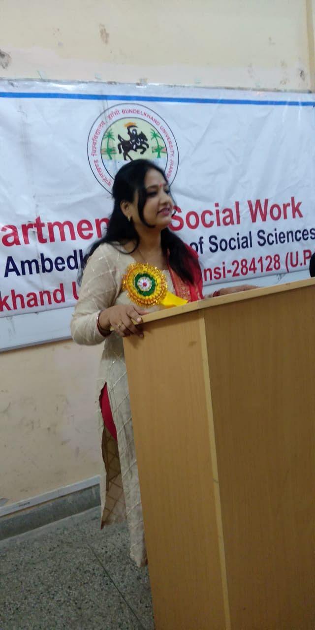 कार्यस्थल पर यौन उत्पीडन का प्रयास भी दण्डनीय: डाॅ. अर्चना सिंह