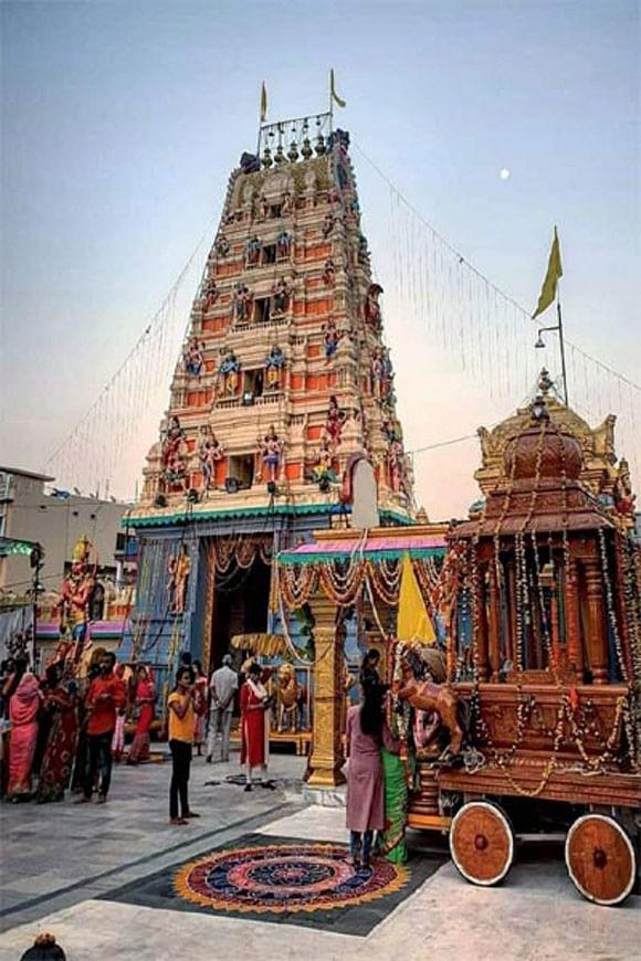 जगदलपुर : बालाजी मंदिर का पांच दिवसीय वार्षिक महोत्सव शुरू