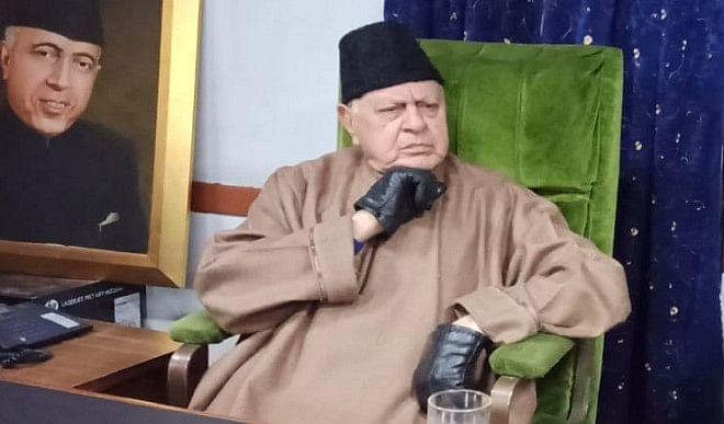 फारूक अब्दुल्ला ने J&K में आतंकवाद खत्म करने के लिए पाकिस्तान से वार्ता की पैरवी की