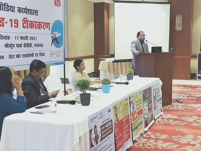 उप्र में कोरोना टीकाकरण का ग्राफ बढ़ाने पर खास रणनीति पर हो रहा काम: डॉ. अजय घई