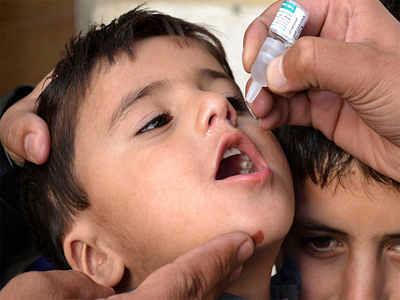 भोजपुर में चार लाख दस हजार बच्चों को पोलियो की खुराक पिलाने का अभियान जारी