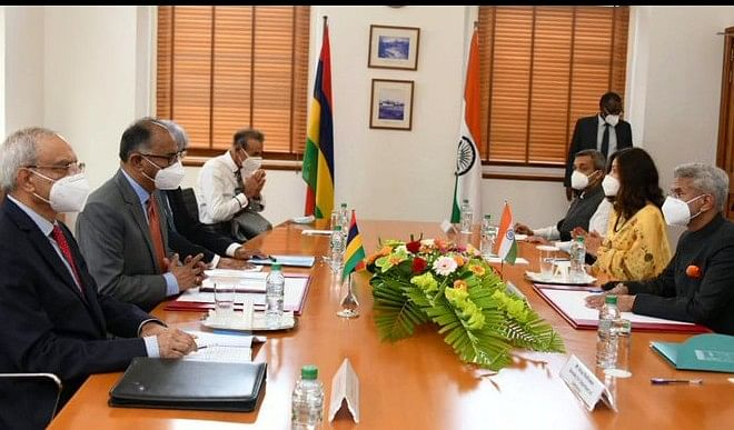 मॉरीशस के प्रधानमंत्री से मिले विदेश मंत्री एस जयशंकर, इन मुद्दों पर हुई चर्चा