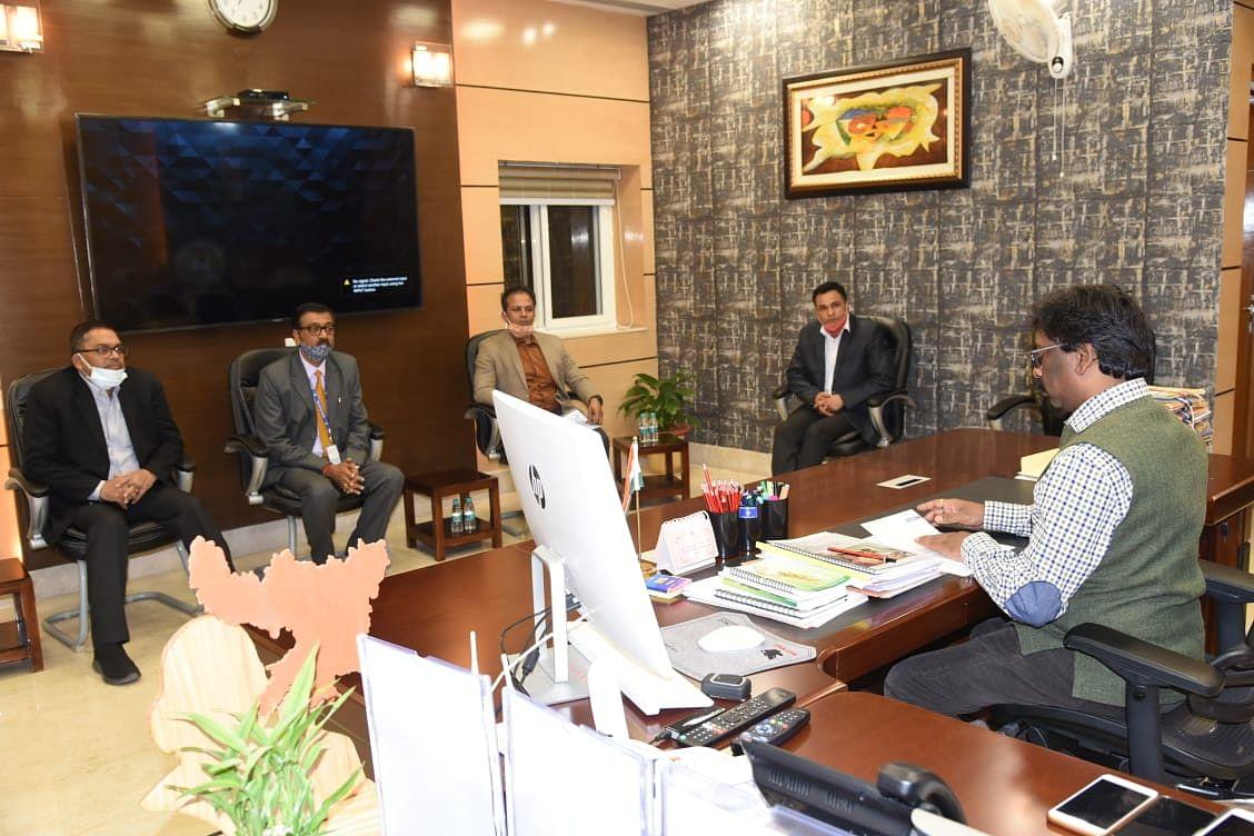 राज्य स्तरीय बैंकर्स कमेटी की बैठक में शामिल होने के लिए सीएम को आमंत्रित किया