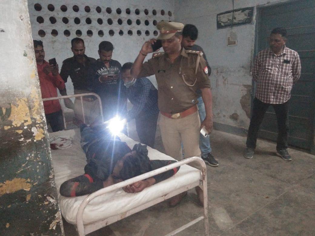 रायबरेली : दरोगा पर बाइक चढ़ाने वाला बदमाश पुलिस के साथ हुई मुठभेड़ में घायल
