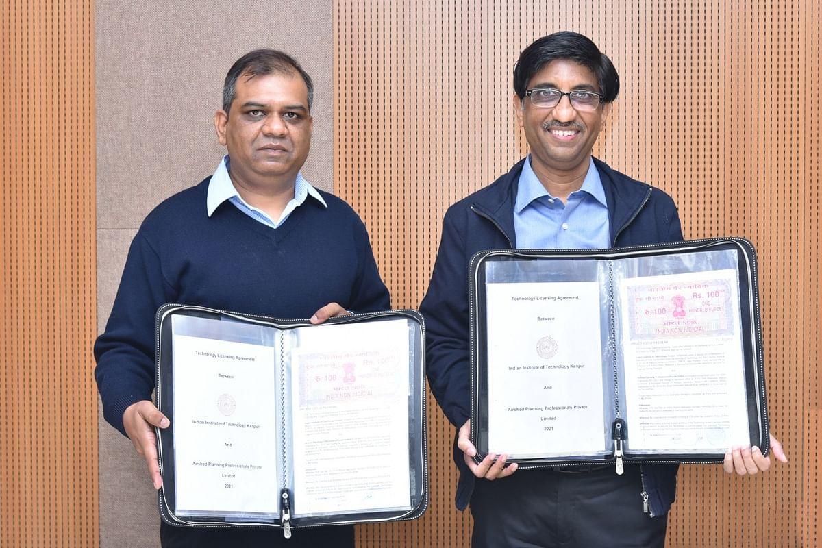कानपुर : आईआईटी ने एयरशेड प्लानिंग प्रोफेशनल्स को जारी किया प्रौद्योगिकी लाइसेंस