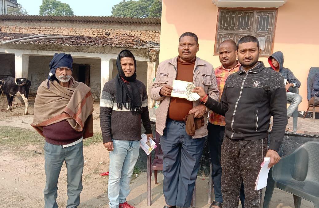 बेगूसराय शहर के सात उपनगरों में घर-घर दस्तक दे रही है रामभक्तों की 70 टोली