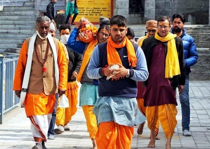 बदरीनाथ धाम के कपाट खुलने की प्रक्रिया की धार्मिक परंपराएं शुरू