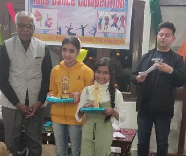 नृत्य प्रतियोगिता में परी, संचन अव्वल