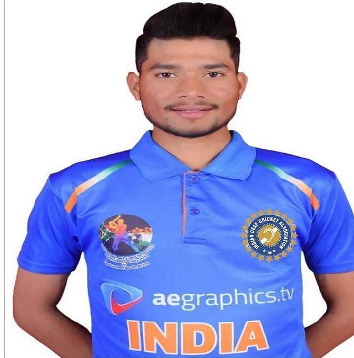 नेशनल डेफ क्रिकेट प्रतियोगिता में खूंटी के खिलाड़ी का चयन