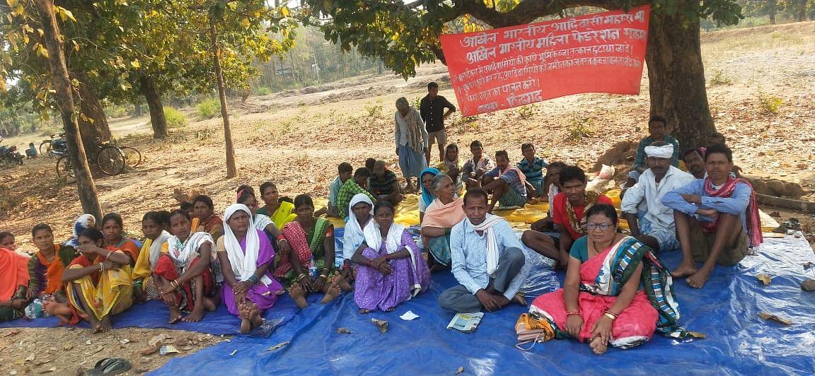 सुकमा : भूमि अधिग्रहण के विरोध में अनिश्चित कालीन हड़ताल जारी